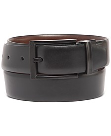 Men's Tonal-Buckle Belt, Created for Macy's