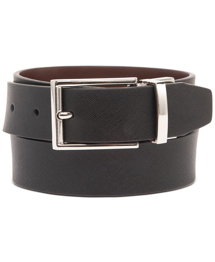Alfani - Men's Textured Belt