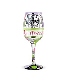LOLITA Girlfriends Together Wine Glass