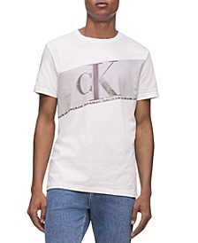 Men's Flash Stripe Logo Graphic T-Shirt