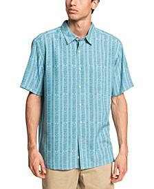 Quiksilver Men's Tiki Row Short Sleeve Shirt