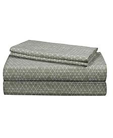 Essential Long Staple Cotton 4 Piece Full Size Sheet Set