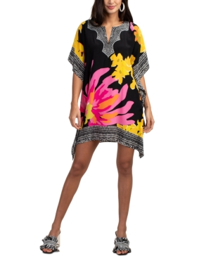 Trina Turk Women's Theodora Printed Silk Dress In Multi