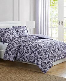 CLOSEOUT! Tina Purple Twin 3-Pc. Comforter Set