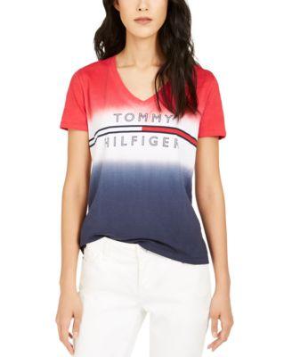 Cotton Colorblocked Graphic T-Shirt
