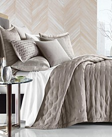CLOSEOUT! Honeycomb Trellis King Coverlet, Created for Macy's