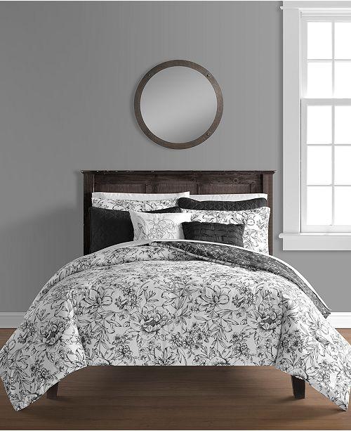 Sunham June 8-Pc. King Comforter and Quilt Set