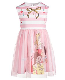 Toddler Girls Princesses Graphic-Print Dress