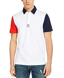 Men's Custom-Fit Brugman Tipped Polo Shirt