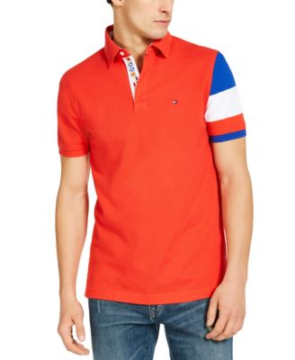 RED JUNIORS POLO CLASSIC SHORT SLEEVE SKINNY FITTED SHIRT SIZES S-L