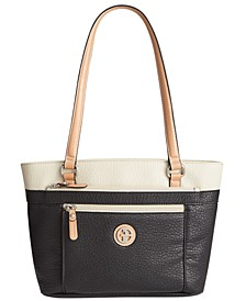Colorblock Pebble Tote, Created for Macy's