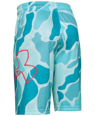 Under Armour Boy`s Renegade Printed Shorts
