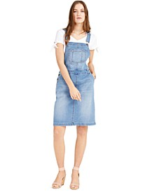 Denim Overalls Dress, Created for Macy's