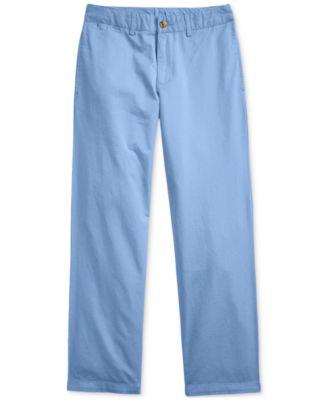 Boy/'s TOMMY HILFIGER Academy Chino Uniforme Pantalon Dans Kaki