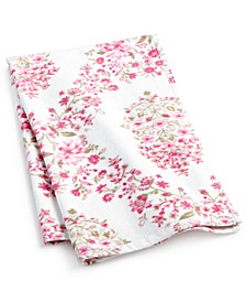 "Pink Botanical Garden Cotton 16"" x 26"" Hand Towel"
