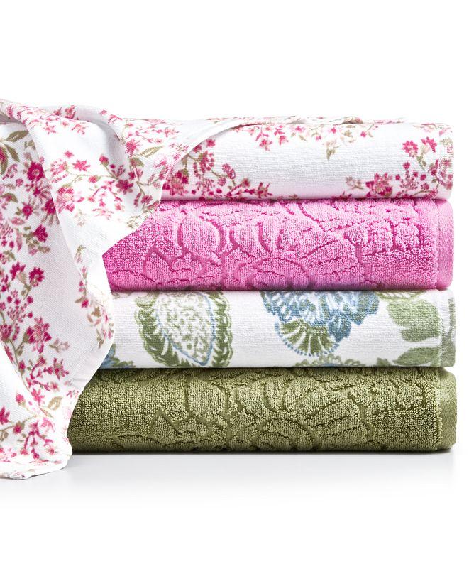Sunham English Garden Bath Towel Collection