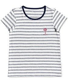 Toddler Girls All My Days Striped T-Shirt