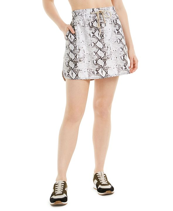 Ideology Snake-Print Skirt, Created for Macy's