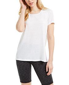Ideology Split-Back T-Shirt, Created for Macy's