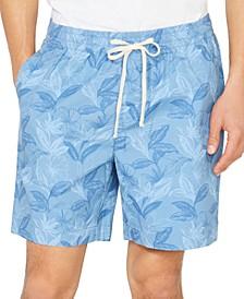 "Men's Classic-Fit Floral Print 7"" Boardwalk Shorts"