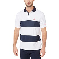 Macys deals on Nautica Mens Classic-Fit Navtech Colorblocked Polo
