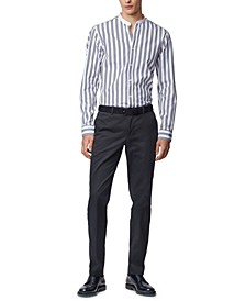 BOSS Men's Stanino Open Blue Pants