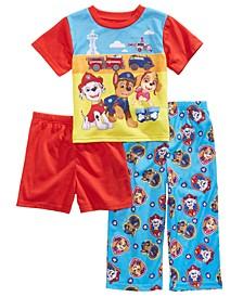 Toddler Boys 3-Pc. Paw Patrol Pajama Set