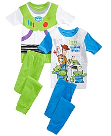 Little & Big Boys 4-Pc. Toy Story Pajama Set