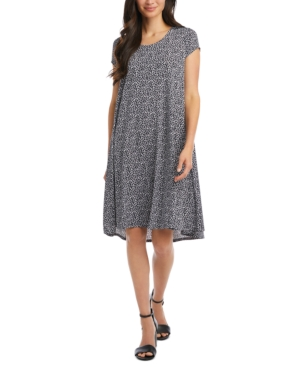 Karen Kane Leopard-Print Swing Dress