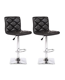 Valarie Adjustable Height Swivel Bar Stool