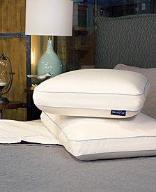 Arctic Nights 20x Cooler Memory Foam Gusseted Pillows Powered by REACTEX