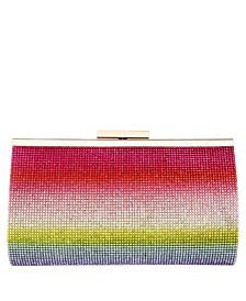 Windsor Ombre Crystal Embellished Frame Clutch