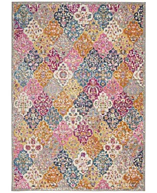 "Zeal ZEA21 Multi 3'9"" x 5'9"" Area Rug"