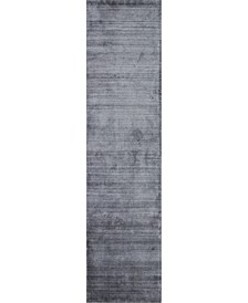 """Land T142 Gray 2'6"""" x 10' Runner Rug"""