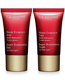 Receive a FREE Super Restorative Duo with $75 Clarins Purchase!