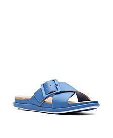 Cloudsteppers Women's Step JuneShell Flat Sandals