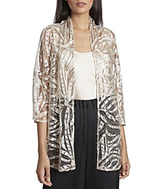 Sequined Jacket & Camisole