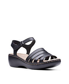 Clarks Collection Women's Delana Brenna Flat Sandals