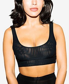 Ultra-Comfy Mesh Wireless Bra, Online Only