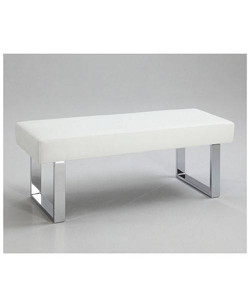 Chintaly Linden Contemporary Backless Long Bench