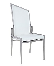 Nala Contemporary Motion Back Side Chair, Set of 2