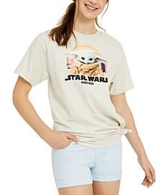 Juniors' Baby Yoda Star Wars Graphic T-Shirt