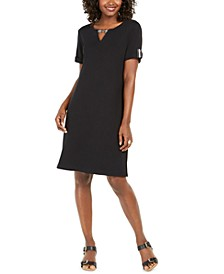 Cotton Keyhole Dress, Created for Macy's