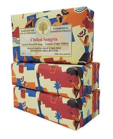 Chilled Sangria Soap with Pack of 3, Each 7 oz