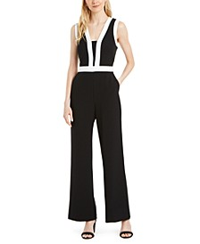 Colorblocked Jumpsuit