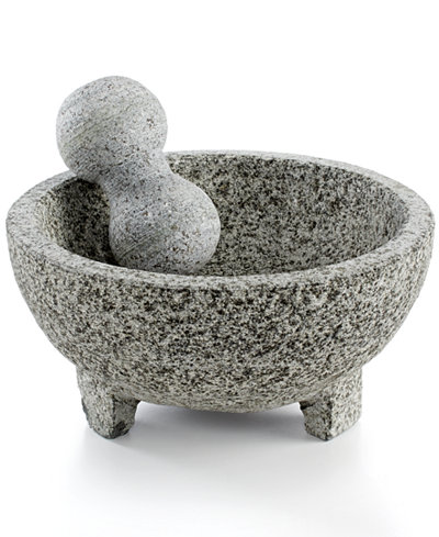 imusa granite mortar pestle molcajete kitchen gadgets kitchen macy 39 s. Black Bedroom Furniture Sets. Home Design Ideas