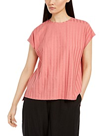 Textured Top, Regular & Petite Sizes