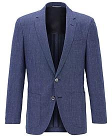 BOSS Men's Haylon Dark Blue Jacket