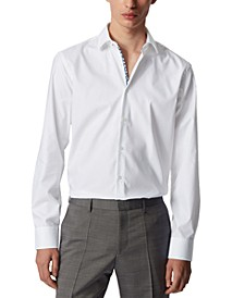 BOSS Men's Gelson White Shirt