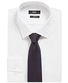 BOSS Men's Dark Blue Travel T-Tie